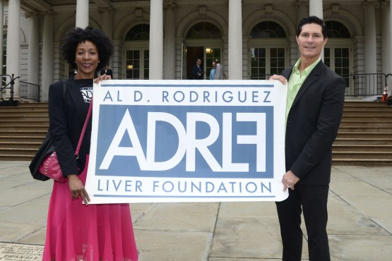 ADRLF Board Members show their steadfast support for National Hepatitis Awareness Month and Hepatitis Testing Day on May 19.