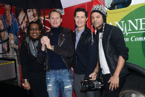 ADRLF's Board Members,  Lisa Collins, Carson Kressley, Dr. Carlos Ortiz and Crayton Robey at the event.