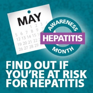 Awareness if important to combat hepatitis. (Image courtesy of CDC.gov)
