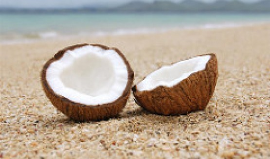 Include some coconut for a healthy and liver-friendly diet. (Photo credit: Creative Commons/Alex Masters)